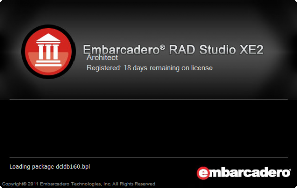RAD Studio XE2 Splash Screen