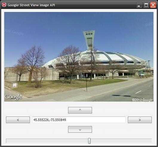 Google Street View Image API