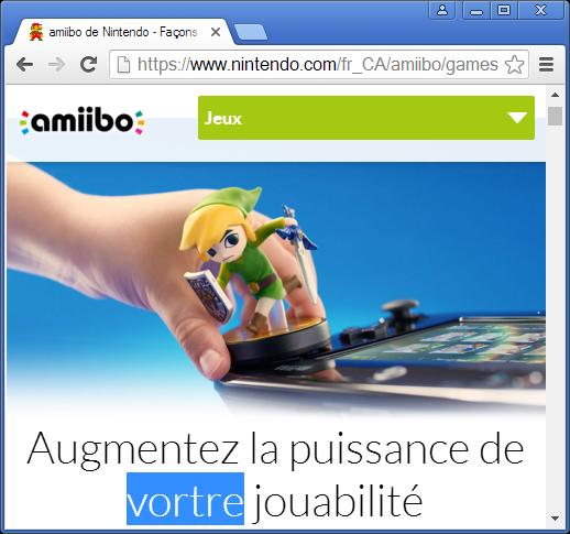 amiibo de Nintendo